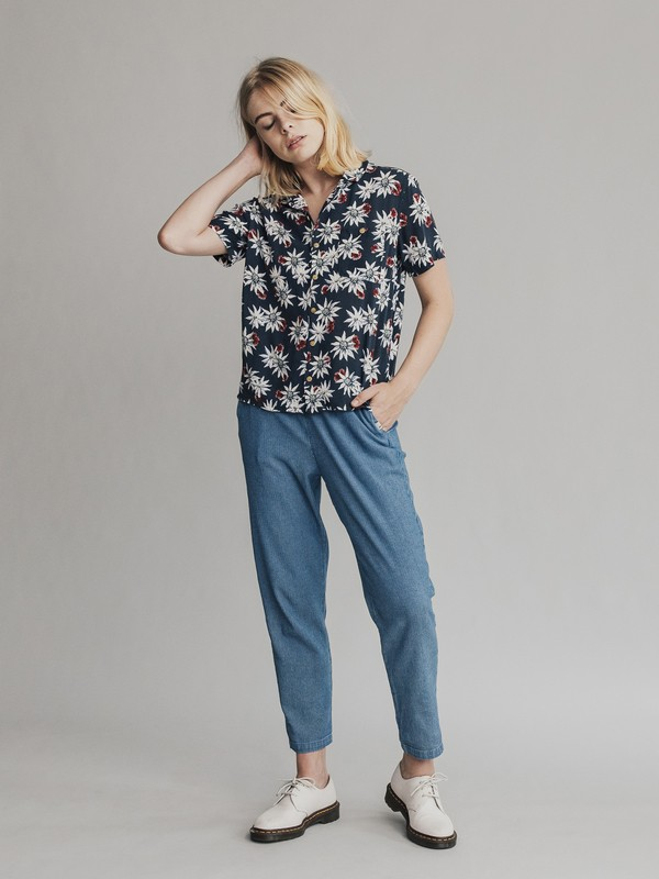 Quiksilver Womens - Short Sleeve Camp Shirt EQWWT03004