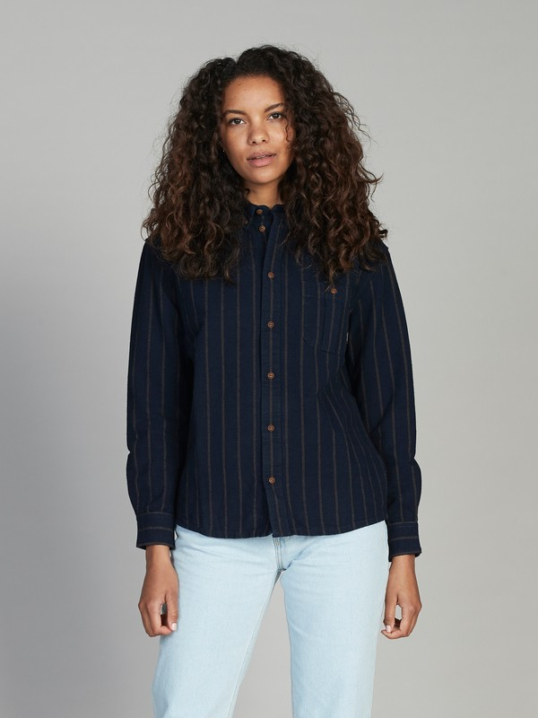 0 Quiksilver Womens Long Sleeve Overshirt Black EQWWT03010 Quiksilver