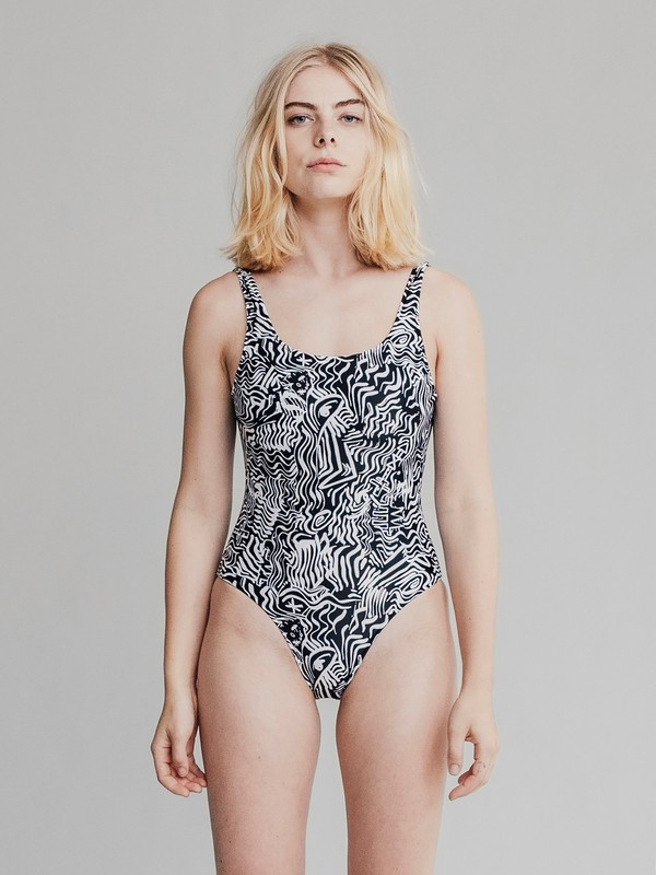 0 Quiksilver Womens - One-Piece Swimsuit Black EQWX103000 Quiksilver