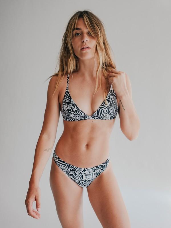 0 Quiksilver Womens - Reggiseno bikini da Donna Black EQWX303000 Quiksilver