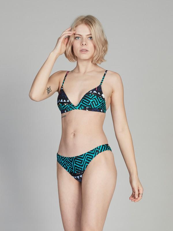 0 Quiksilver Womens Bikini Top Black EQWX303001 Quiksilver