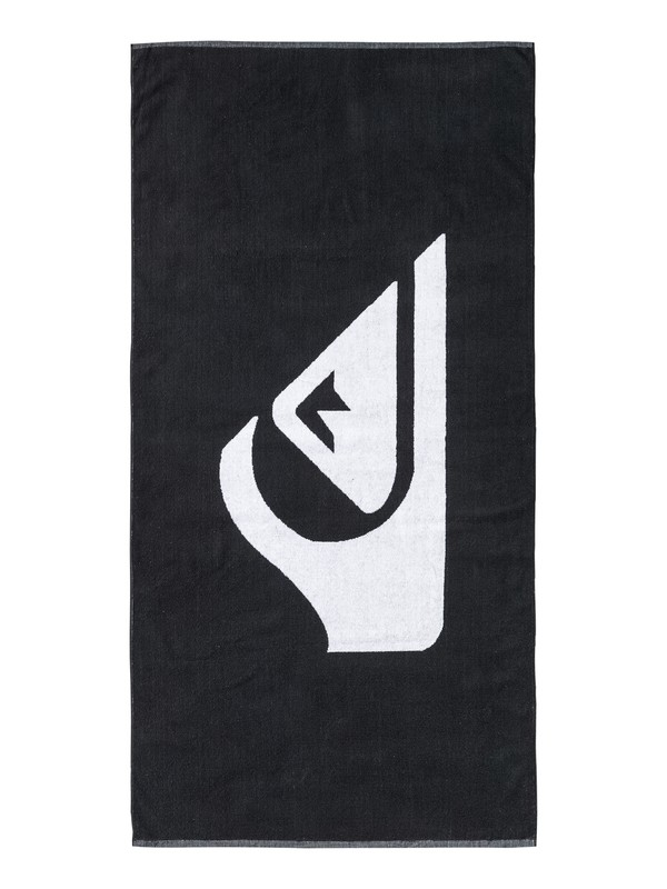 0 Woven Logo - Beach Towel Black EQYAA03108 Quiksilver