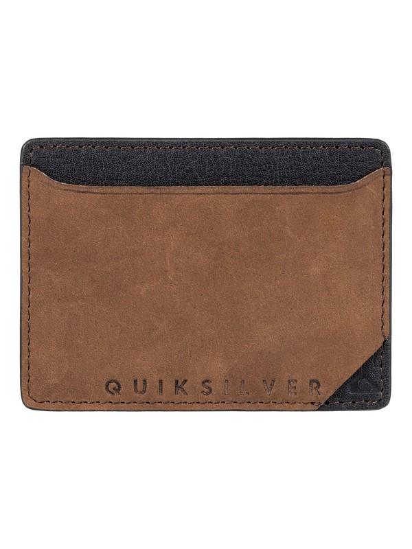 0 Modonut - Leather Card Holder  EQYAA03492 Quiksilver