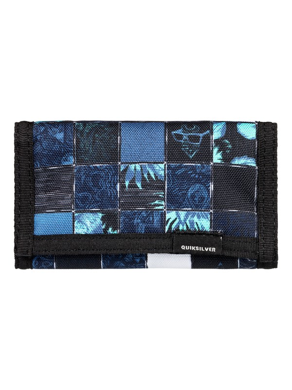 0 The Everydaily - Tri-Fold Wallet for Men Blue EQYAA03530 Quiksilver