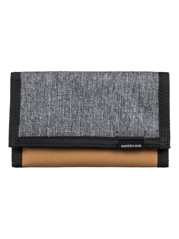 0 The Everydaily TriFold Wallet Black EQYAA03530 Quiksilver