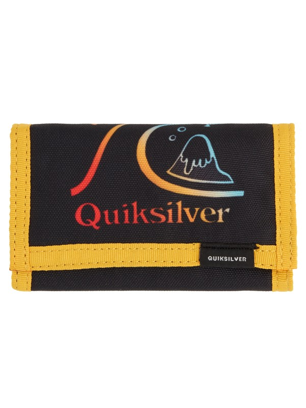 0 The Everydaily TriFold Wallet Orange EQYAA03530 Quiksilver