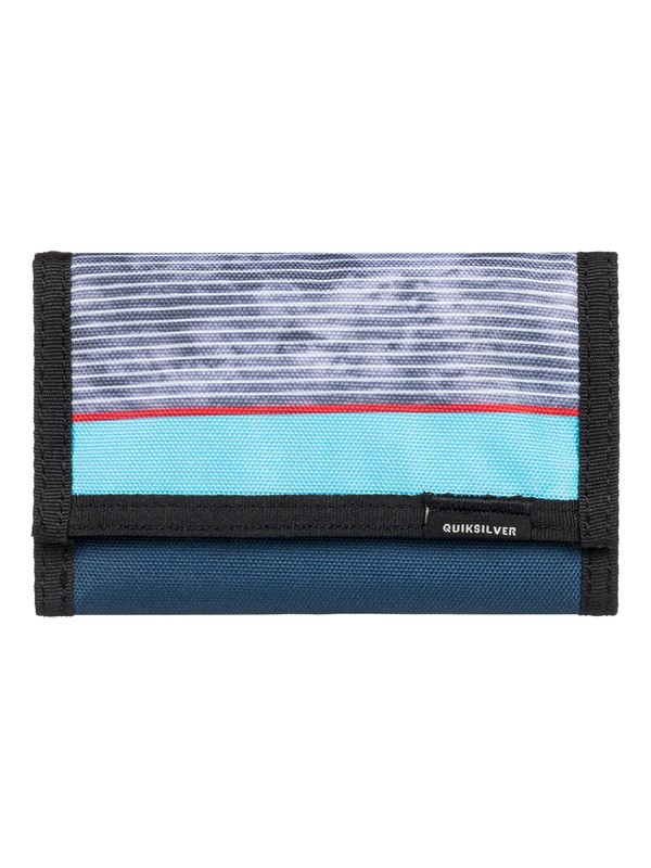 0 The Everydaily TriFold Wallet Red EQYAA03530 Quiksilver