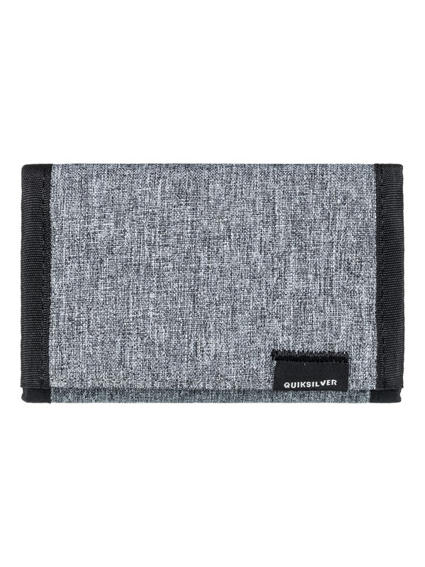0 The Everydaily - Tri-Fold Wallet Grey EQYAA03530 Quiksilver