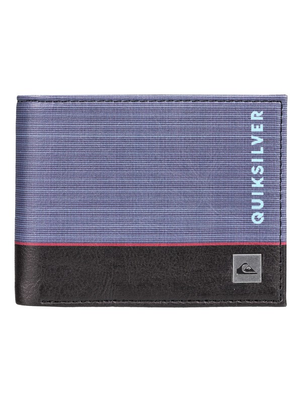 0 Freshness - Bi-Fold Wallet Blue EQYAA03561 Quiksilver