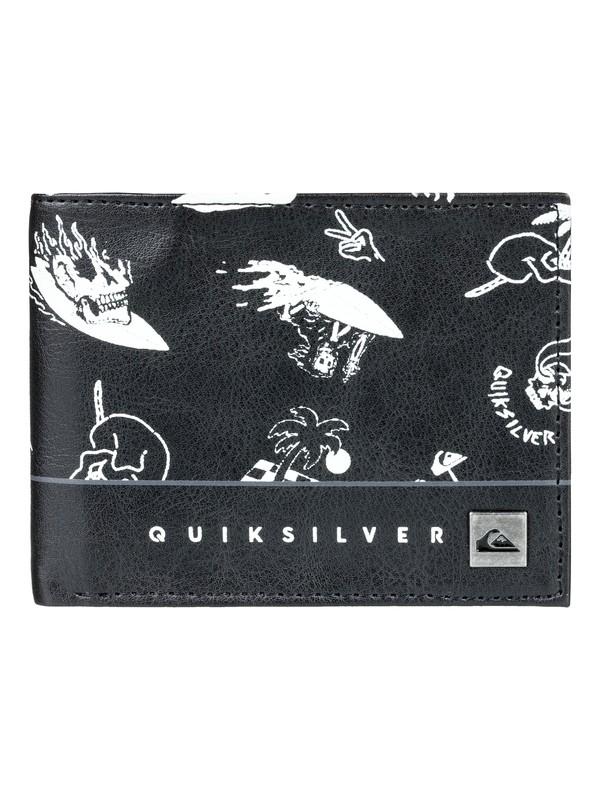 0 Freshness - Portefeuille à deux volets Noir EQYAA03561 Quiksilver