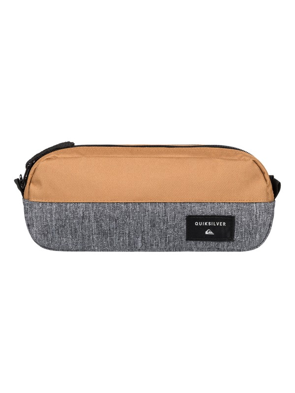 0 Tasmen - Pencil Case Grey EQYAA03575 Quiksilver