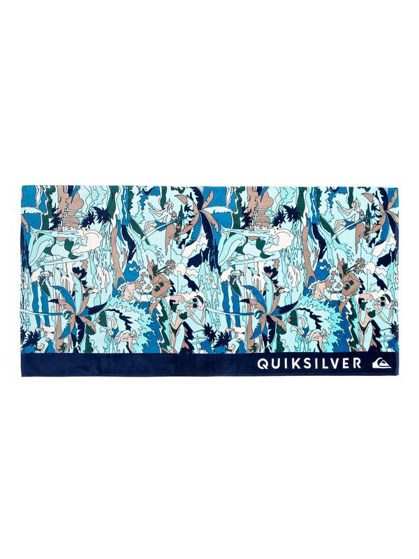0 Freshness - Beach Towel Blue EQYAA03602 Quiksilver
