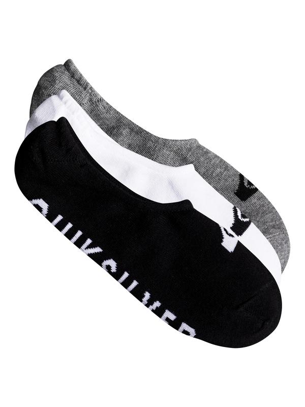 0 Короткие носки Quiksilver (3 пары) Разноцветный EQYAA03668 Quiksilver