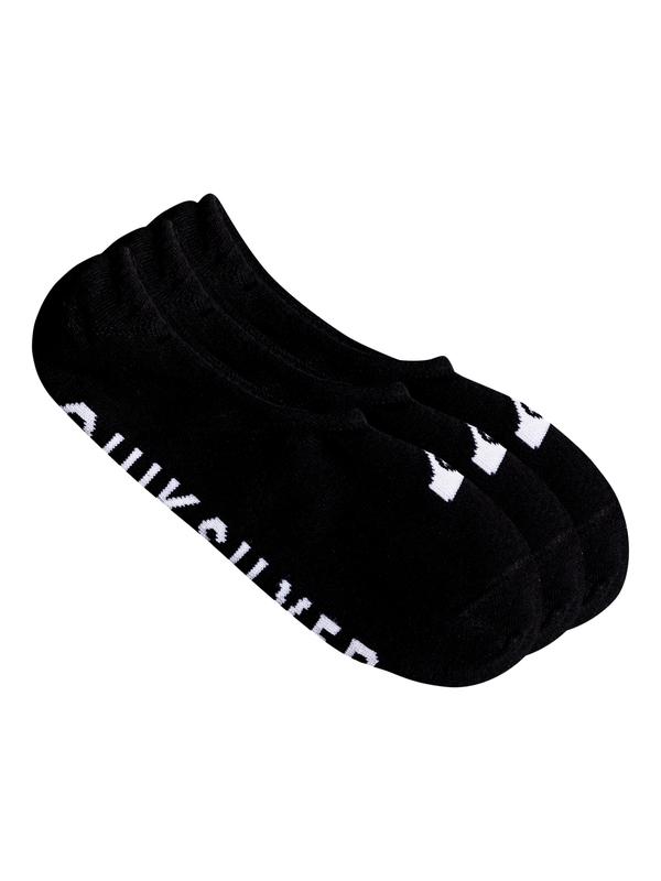 0 Короткие носки Quiksilver (3 пары) Черный EQYAA03668 Quiksilver