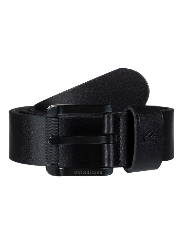 0 The Everydaily Leather Belt Black EQYAA03683 Quiksilver