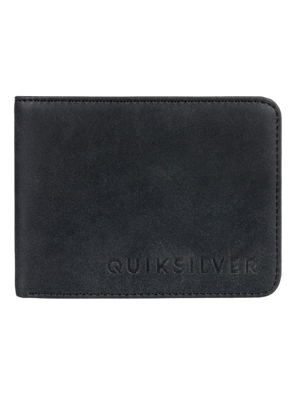 0 Кошелек Slim Vintage Черный EQYAA03686 Quiksilver