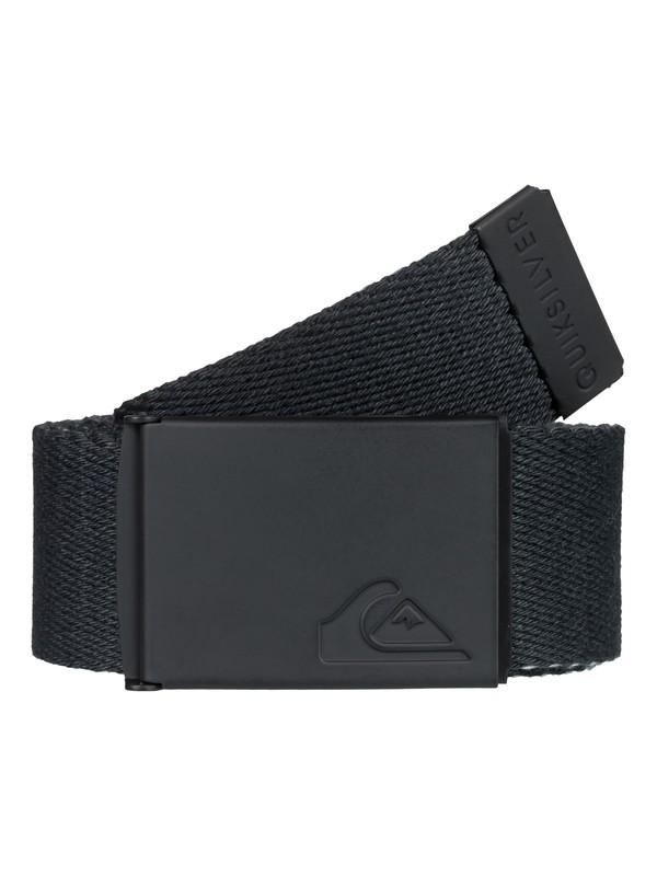 0 The Jam Reversible Webbing Belt Black EQYAA03704 Quiksilver