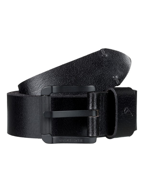 0 Sandbank Leather Belt Black EQYAA03729 Quiksilver
