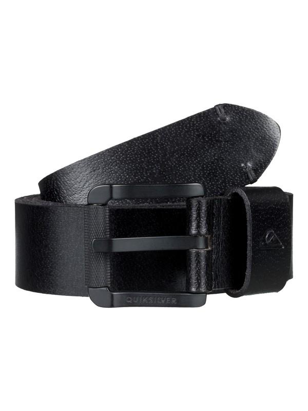 0 Cinturón de Piel Sybank Negro EQYAA03729 Quiksilver