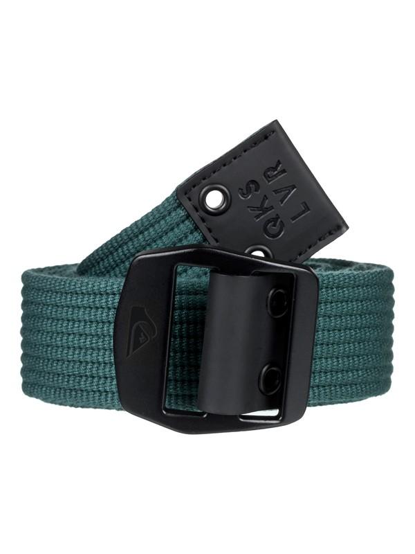 0 Cinturón de Cinta Tejida - Ocean Origami Verde EQYAA03736 Quiksilver