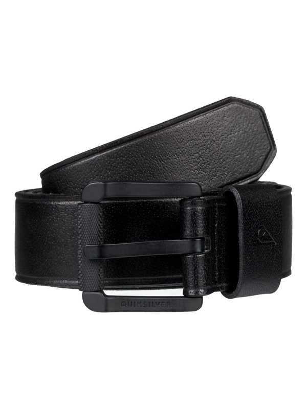 0 The Everydaily Leather Belt Black EQYAA03737 Quiksilver