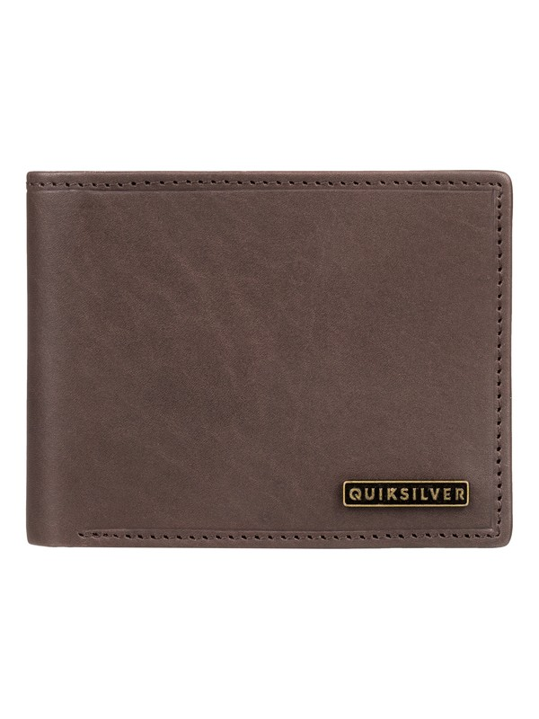 0 New Classical Plus - Bi-Fold Wallet Brown EQYAA03744 Quiksilver