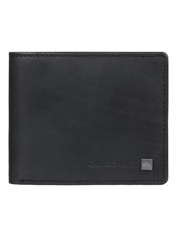 0 Curvecutter - Tri-Fold Wallet Black EQYAA03746 Quiksilver