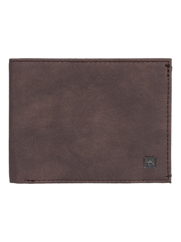 0 Scorpionfish - Tri-Fold Wallet Brown EQYAA03753 Quiksilver