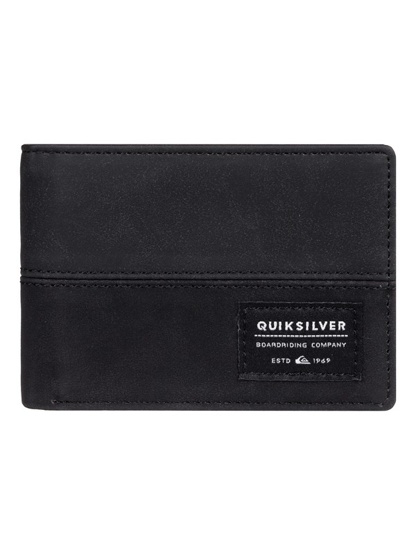 0 Nativecountry - Bi-Fold Wallet Black EQYAA03754 Quiksilver