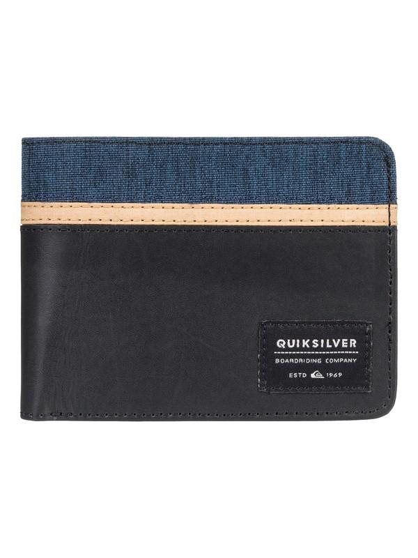 0 Reef Break - Bi-Fold Wallet Black EQYAA03759 Quiksilver