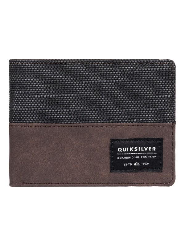 0 Billetera de doble doblez Daggerboard Negro EQYAA03762 Quiksilver