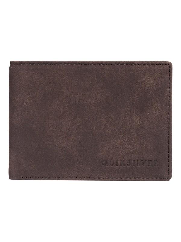 0 Slim Vintage - Bi-Fold Wallet Brown EQYAA03764 Quiksilver