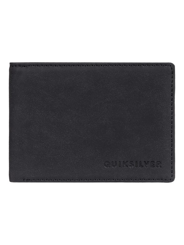 0 Slim Vintage BiFold Wallet Black EQYAA03764 Quiksilver