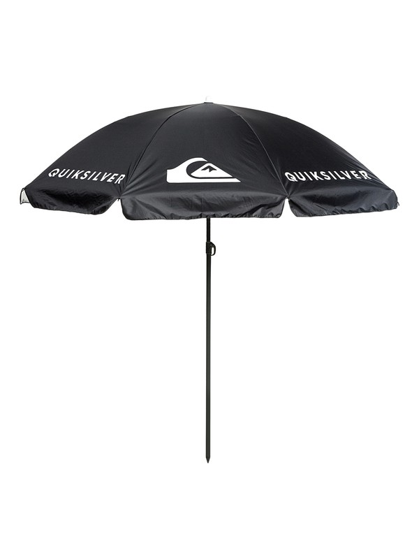 0 Sun Umbrella UPF 100 Beach Umbrella Black EQYAA03767 Quiksilver