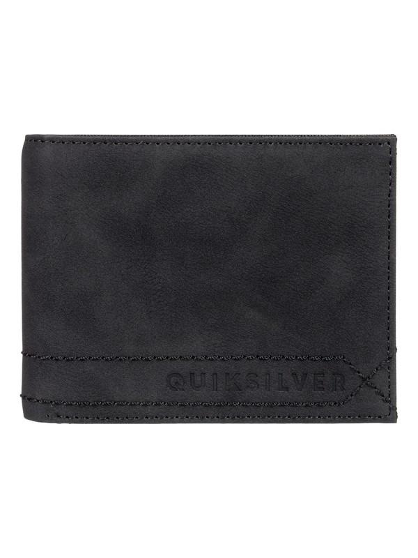 0 Stitchy BiFold Wallet Black EQYAA03775 Quiksilver
