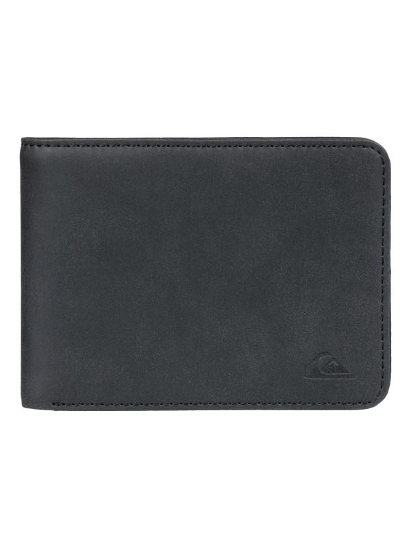 0 Slim Vintage Bi-Fold Wallet Black EQYAA03786 Quiksilver