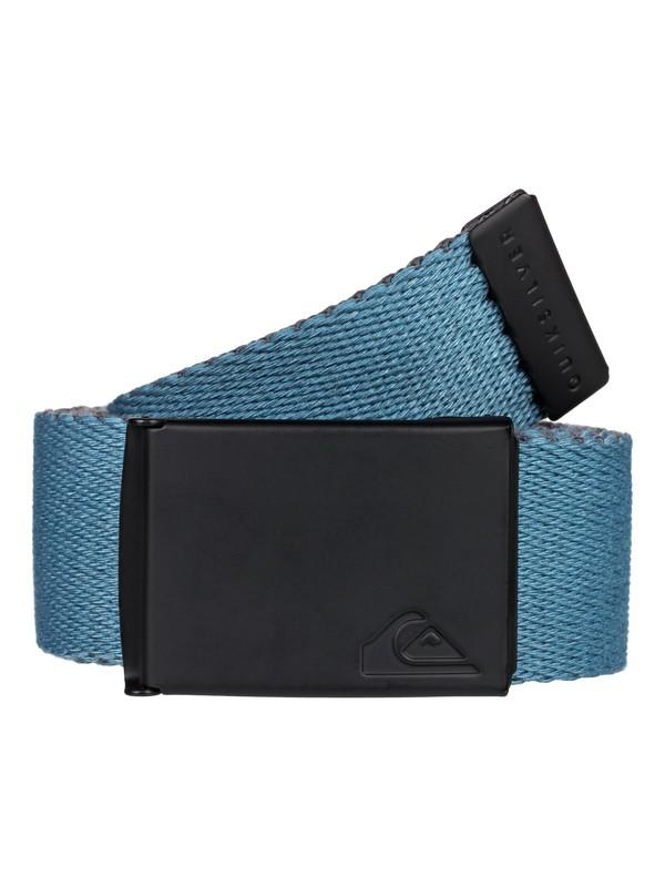 0 The Jam Webbing Belt Blue EQYAA03791 Quiksilver