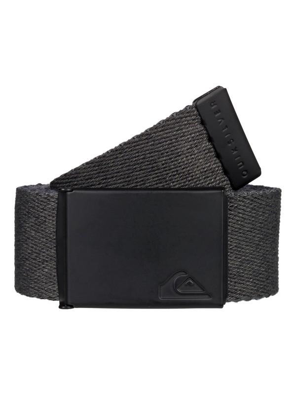 0 The Jam - Cinturón de Nailon Reversible Negro EQYAA03791 Quiksilver