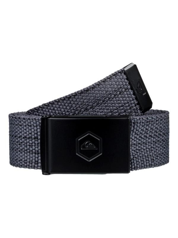 0 Principle Webbing Belt Black EQYAA03792 Quiksilver