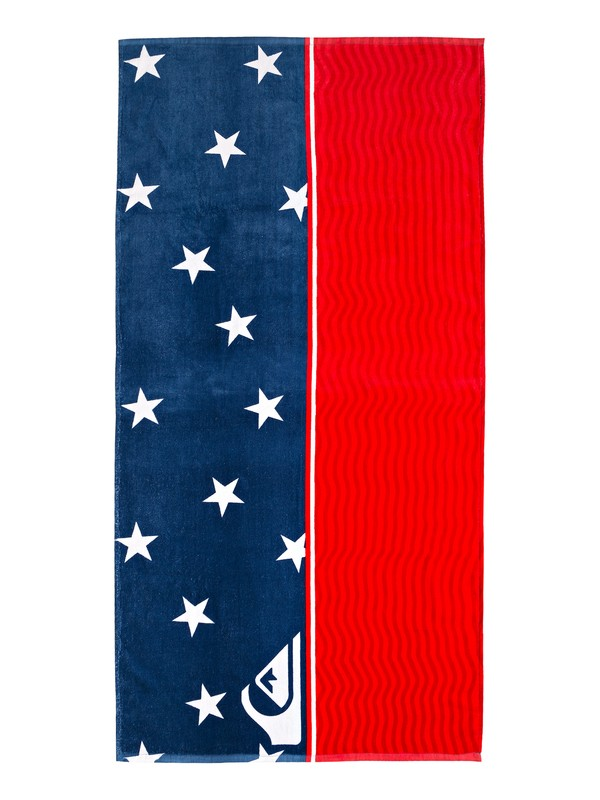 0 4th Of July Beach Towel Blue EQYAA03799 Quiksilver