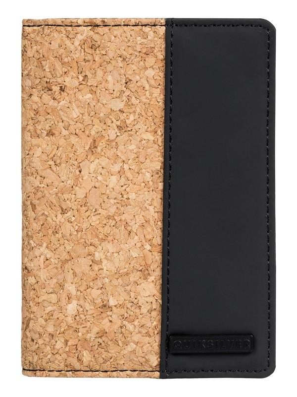 0 Blackwine Cork BiFold Wallet Black EQYAA03801 Quiksilver