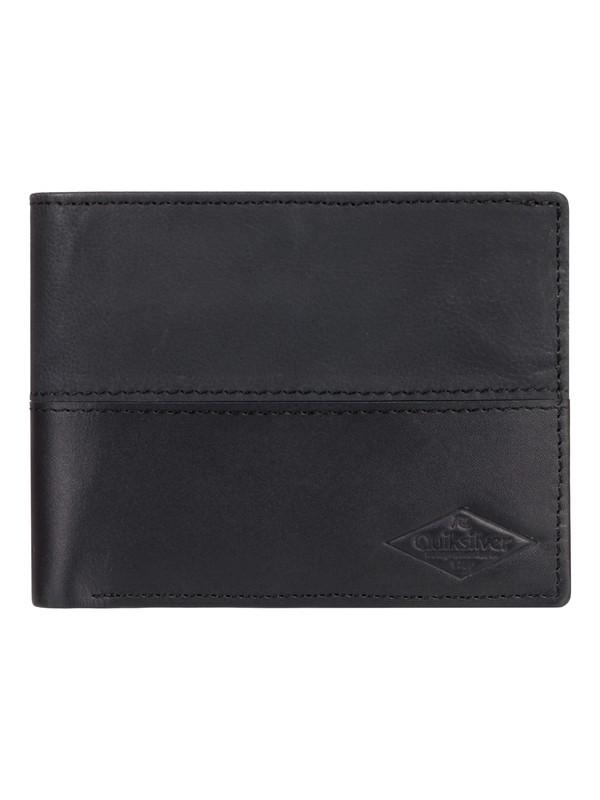 0 Desertruker - Leather Wallet & Cardholder Black EQYAA03811 Quiksilver