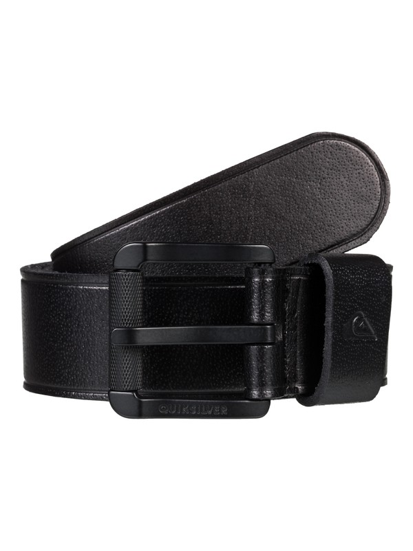 0 The Everydaily Leather Belt Black EQYAA03829 Quiksilver