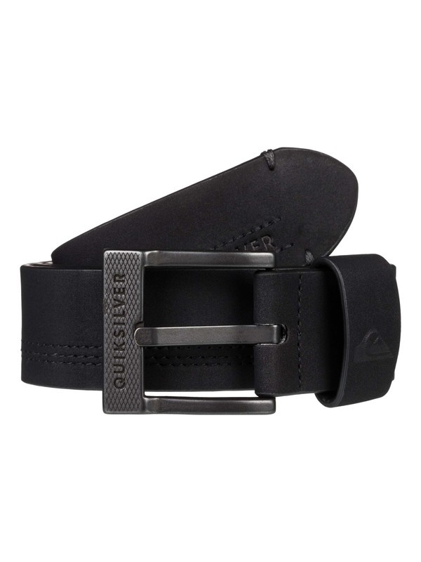0 Stitchy Update Faux Leather Belt Black EQYAA03831 Quiksilver
