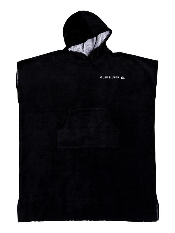 0 Hoody Towel Surf Poncho Black EQYAA03842 Quiksilver