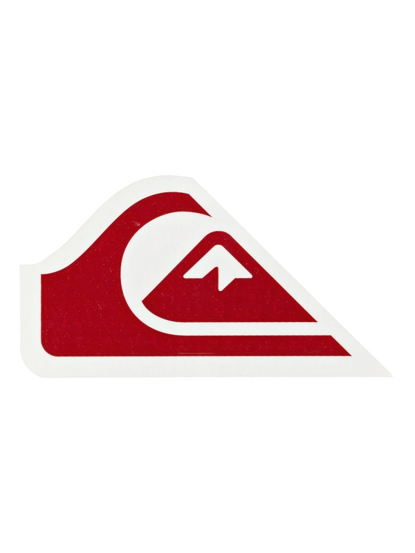 0 Comp Logo Sticker Pack White EQYAA03845 Quiksilver