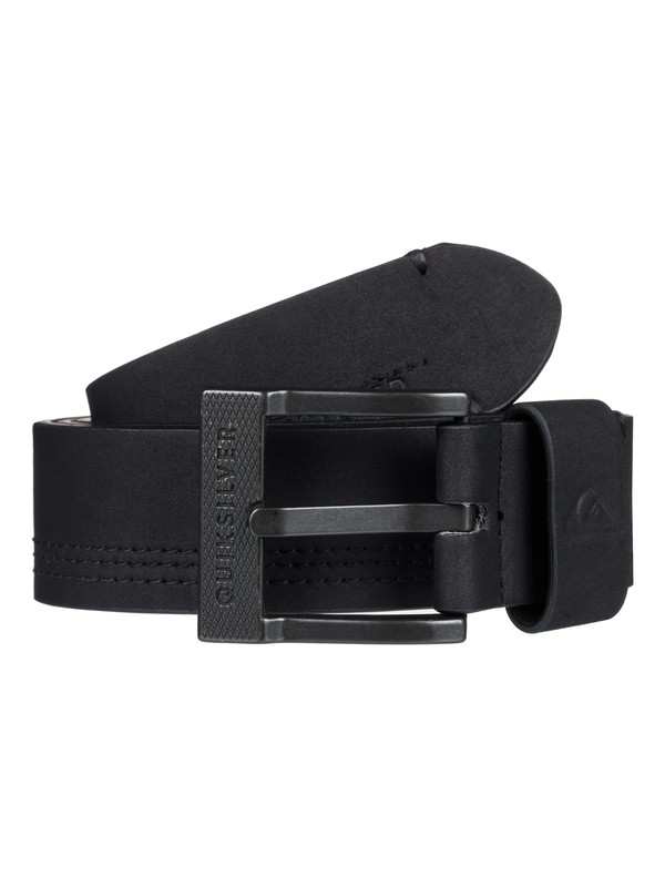 0 Stitchy Faux Leather Belt Black EQYAA03855 Quiksilver