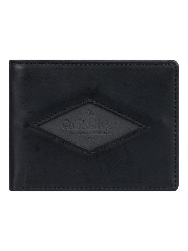 0 Tenderboat Bi-Fold Wallet Black EQYAA03863 Quiksilver