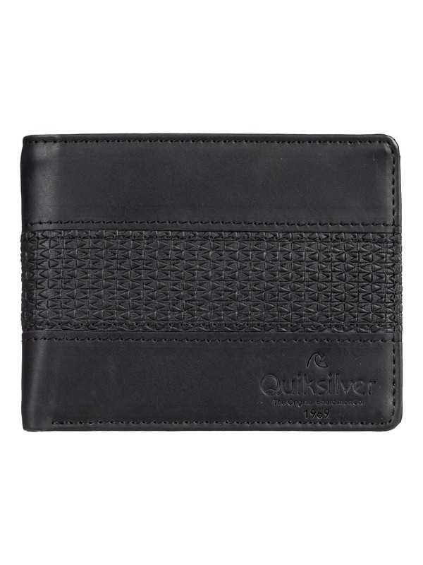 0 Wavegarden Bi-Fold Wallet Black EQYAA03864 Quiksilver