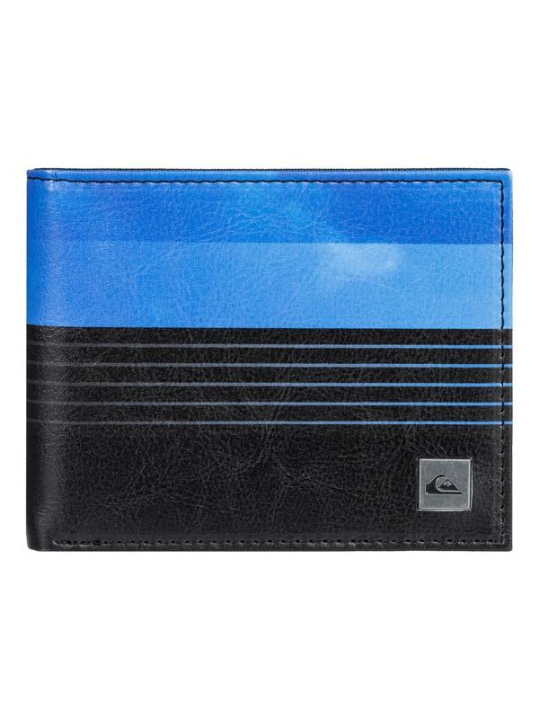 0 Freshness Bi-Fold Wallet Blue EQYAA03867 Quiksilver